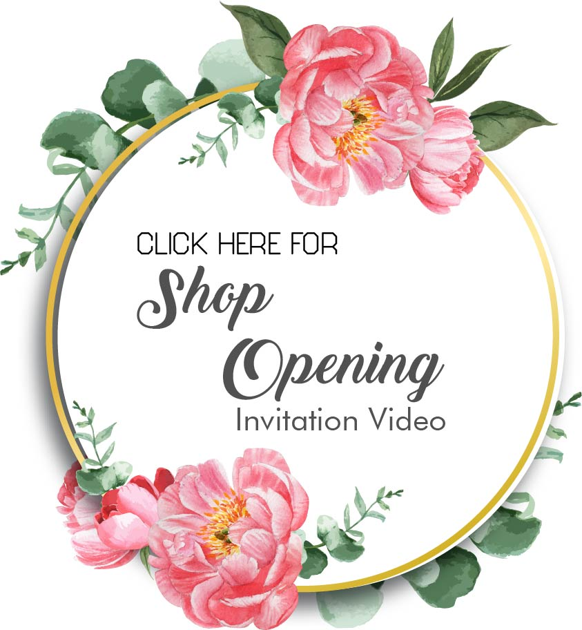 Shop Opening Invitation Video
